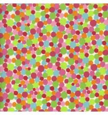 Fun & Funky Dotty Spotty fabric (Multicolour)